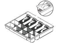 APG Cash Drawer Insert - Dual Cur. Style 8/8