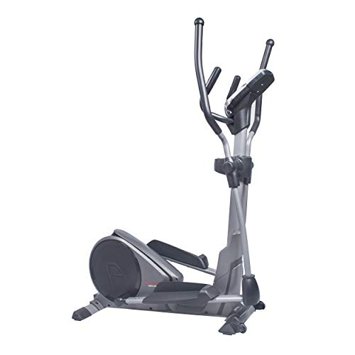 Sunny Health & Fitness Magnetic Elliptical Trainer Elliptical Machine w/Tablet Holder, Programmable Monitor and Heart Rate Monitoring, High Weight Capacity – SF-E3912