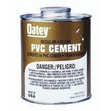 16OZ LO-VOC PVC REG CLR CEMENT [DIY & Tools] [DIY & Tools] [DIY & Tools] by Oatey