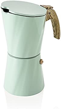 Brandani 54901 Torre Vintage 4 tazas Cafetera Tiffany Marfil ...