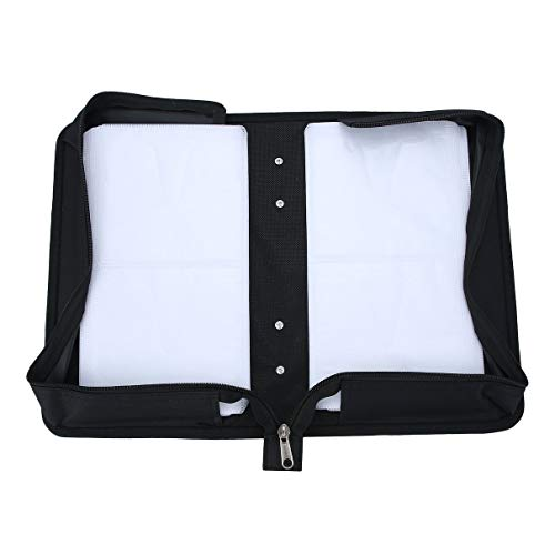 CD Box DVD Storage Case Carrying Bag Organizer Media Video Accessories Protective High-Grade PU Leather Holder