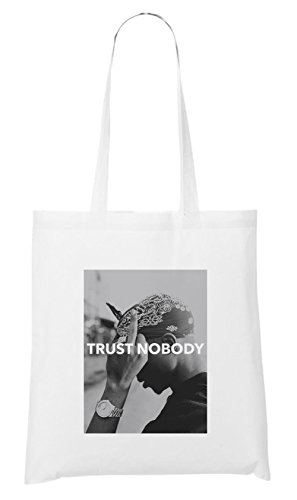 Trust Nobody Bag White