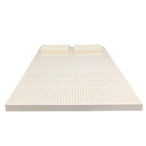 Natural Latex Mattresses,7 Zone Support,Honeycomb Pore Structure,Highly Breathable,Anti-mite and Sterilization…