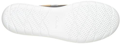 Clarks US Women's Textile Perforated Navy Jocolin Parent Vista Shoe Boat RxRrCwqY