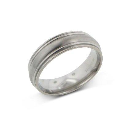 Mens Saturn Style Aircraft Grade Titanium Wedding Band Ring Size 11(Sizes - Aircraft Titanium Grade