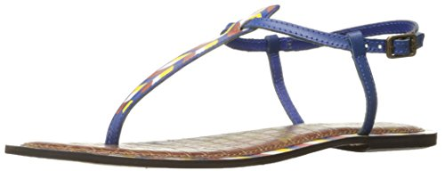Blue Edelman Sam 5 Gigi Painted Women''s 1 Leather Sandal fFYwYdq