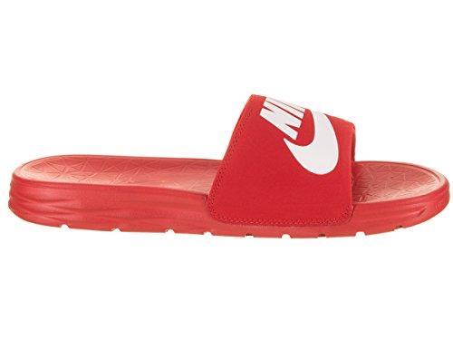 Pictures of NIKE Men's Benassi Solarsoft Sandals SB University Red/White 2