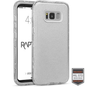 GLOBAL CELLULAR SS S8 - Rapture Clear Silver Glitter/Clear ()
