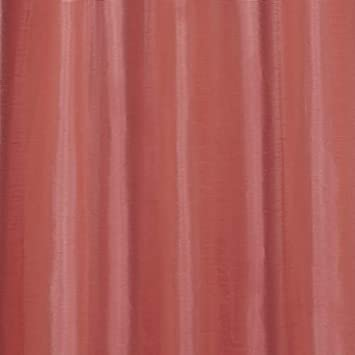 Exclusive Home Curtains Chatra Faux Silk Grommet Top Window Curtain Panel Pair, Coral, 54×96