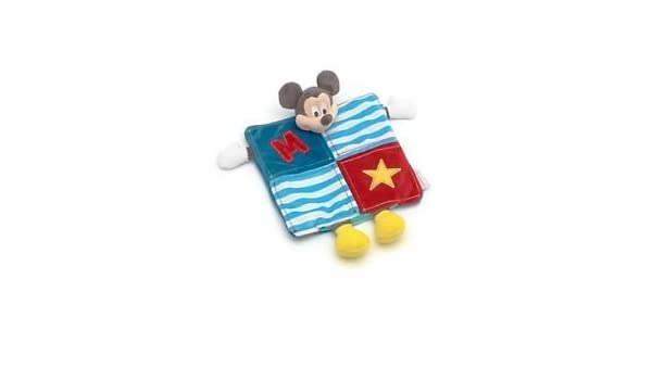 Disney Mickey Mouse Doudou Patchwork: Amazon.es: Bebé