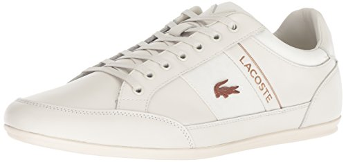 Lacoste Men's Chaymon Sneaker, White, 13 Medium US