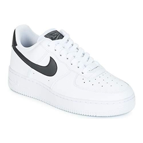 152 Donna bianca 1 Ginnastica Da bianca Ginnastica 1 Nike '07 Bianco nero Air   44df9f