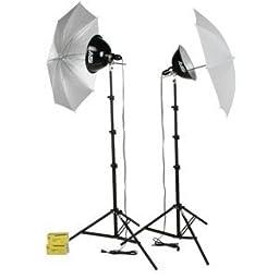Smith-Victor - KT500U 500-Watt Thrifty Photoflood Kit