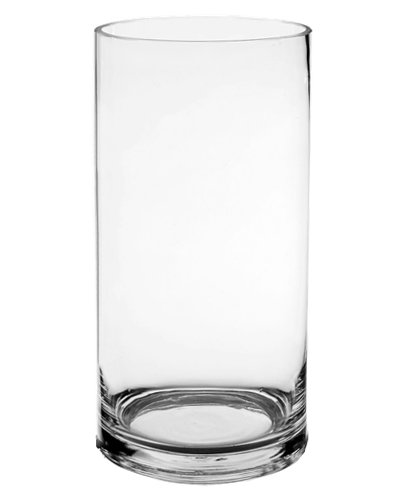 Amazon Cylinder Glass Vases 325 Diameter Set Of 12
