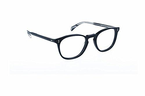 Oliver Peoples OV5298U Finley ESQ Eyeglasses 1492 Black Frame / RX Clear Lens - Oliver Finley