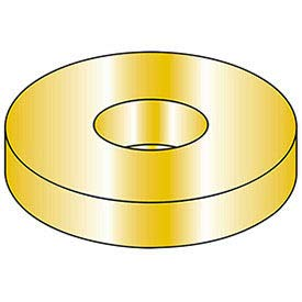 Flat Washer - M8 - Hardened Steel - Zinc Yellow - Class 10.9 - DIN 125A - Pkg of 100, (Pack of 5) (ABK08)