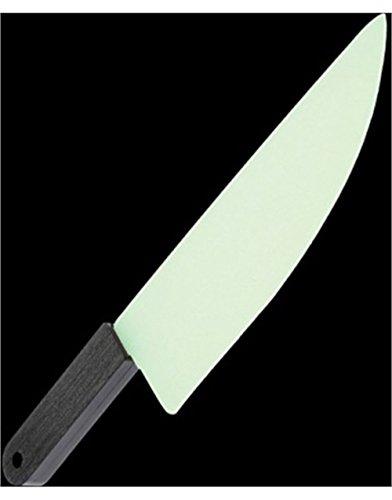 Plastic Knife Halloween (U.S. Toy Glow In The Dark Butcher Plastic Knife (Costume) -)