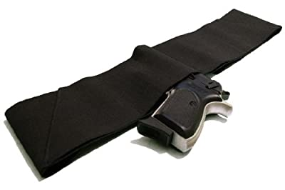 Four Way Belly Band Gun Holster - Size Medium 33