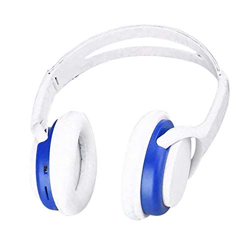 Wowpower Wireless Headphones Headset Noise Cancelling Earphone Card TF and FM Radio (Blue)