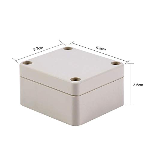 1PC ABS Waterproof Junction Box, Good Sealing Performance, Long Service Time, 2 Sizes for Your Choice(656035mm) by Mugast (Image #4)