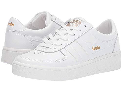 Gola Women's Grandslam Leather White/White/White 9 B US