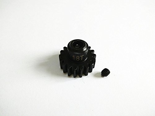(Raidenracing Harden Steel 18T Motor Gear for Traxxas X-Maxx XMAXX 6S 8S)