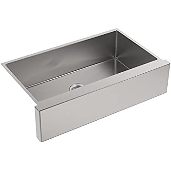 KOHLER K 5415 NA Strive Self Trimming Undermount Large Single Bowl Kitchen