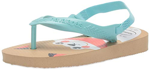 Havaianas Kid's Baby pets sandal, Ivory, 23/24 BR (9 M US Toddler)