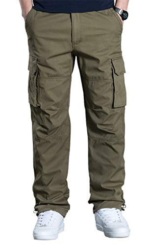 70cde491 exeke Men's Relaxed Fit Cargo Pant Dungarees Work Pants Outdoor Tactical  Pants