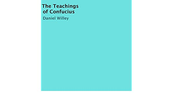 Amazon The Teachings Of Confucius Audible Audio Edition