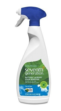 Seventh Generation Natural Laundry Stain Remover Free & Clear22.0 fl oz(4pack)