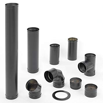 DuraBlack Single Wall Stovepipe - 6