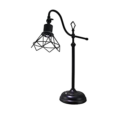 Adjustable Oil Rubbed Bronze Finish LED Desk Lamp