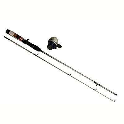 Zebco Ready Tackle Spincast Fishing Rod and Reel Combo with Basic Tackle Kit