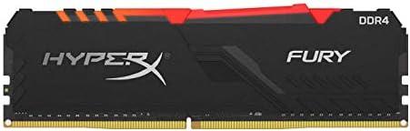 HyperX Fury HX436C17FB3A8 Geheugen 8 GB 3600 MHz DDR4 CL17 DIMM 1R x 8 RGB