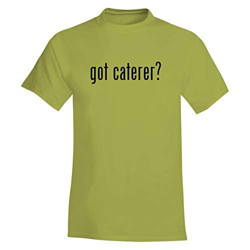 The Town Butler got Caterer? - A Soft & Comfortable Men's T-Shirt, Yellow, Large ()