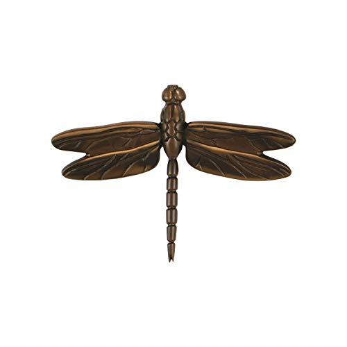 Dragonfly in Flight Door Knocker - Oiled Bronze (Standard Size)