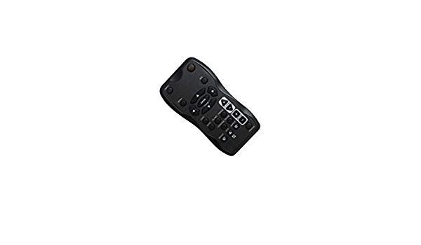 Black for Casio XJ-A256 TeKswamp Video Projector Remote Control