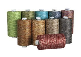 Connecting Threads 100% Cotton Thread Sets - 1200 Yard Spools (Variegated Sewing)