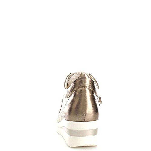 Melluso R20102 Basket Femme Bronze 1sLXd5dAde