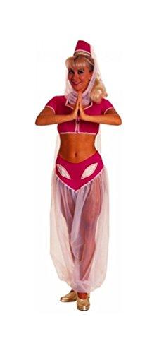 [I Dream of Jeannie Adult Costume - Standard - Dress Size 10-12] (I Dream Genie Costume)