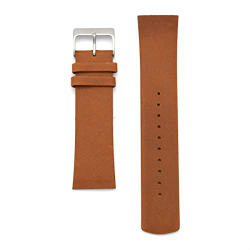 22 Mm Screw - Replacement Watch Band for Skagen Mens Watches 22mm with Screws (Brown)