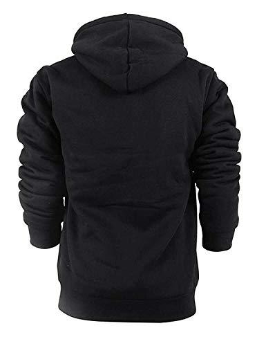 GEEK LIGHTING Men s Winter Heavyweight Fleece Hoodie Jackets Sherpa Lined  with Full Zip for Big   bf02ca8a7