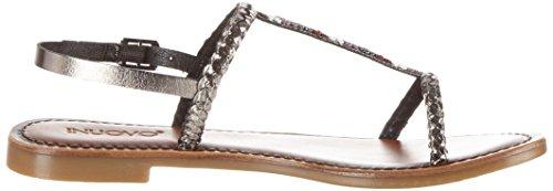 Inuovo Women's 7299 T-Brace Silver (Pewter) Size: 3.5 UK DW9M3a
