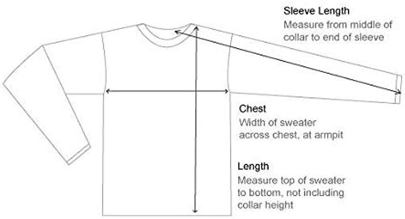 Invisible World Men's Cashmere Jumper Crew Neck Pullover: Odzież