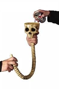 Morris Costumes Skull Beer Funnel