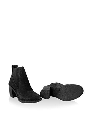 Gusto - 1415_PRETTY_CROSTA_NERA - Schuhe Stiefel Schwarz
