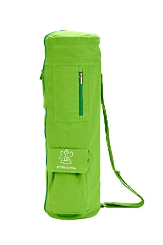 Yoga Mat Bag Full-Zip Exercise Mat Carry Bag with Multi-Functional Expandable Storage Pockets