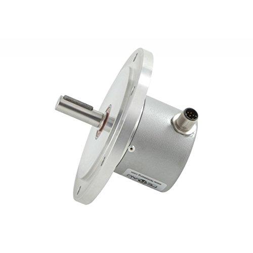 Fenac FNC 115S 10630V50-R2 Incremental Encoder 115mm Body Diameter 50PPR 2m Cable 5-30V in//Out Digital Tachogenarator with Robust Tacho Flange Shaft 10mm 6 Channel