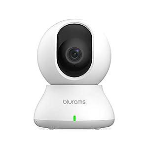 Flashandfocus.com 31JtXV5mfGL._SS300_ Security Camera 2K, blurams WiFi Camera Nanny Cam Pet Camera w/ Two-Way Audio, Sound/Person Detection, Night Vision…